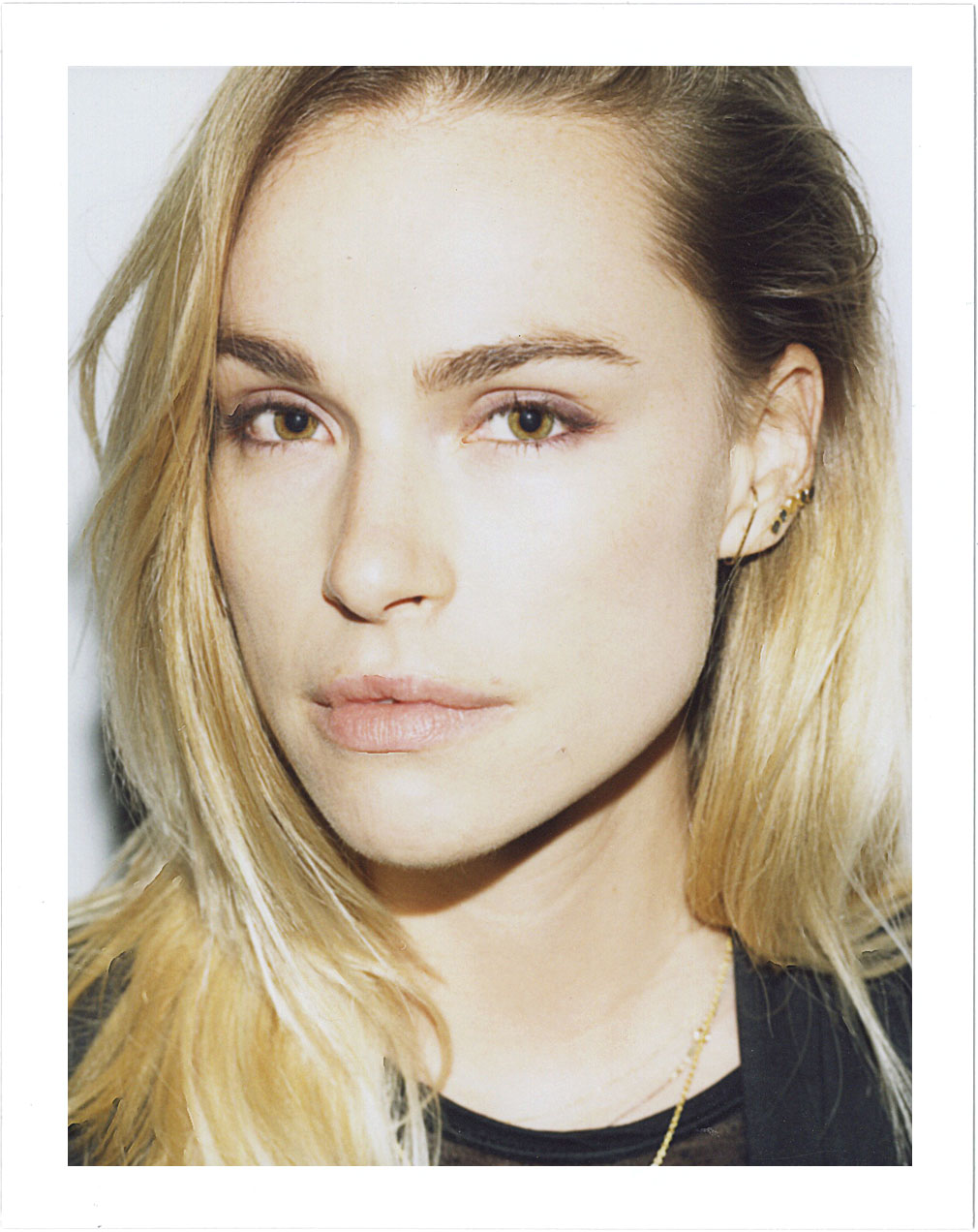 Polaroid Portrait of Artist Influencer Blanda for Nice People Only by Jane Smith Creative Agency