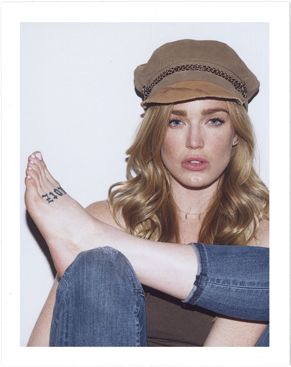 Actress Caity Lotz for Nice People Only Influencer Project by Jane Smith Creative Agency