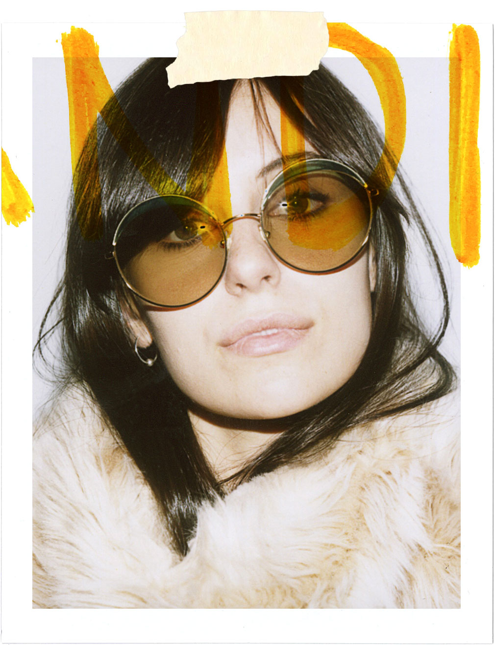 70s Inspired Fashion Polaroid | Influencer Marta Pozzan for Nice People Only by Jane Smith Agency